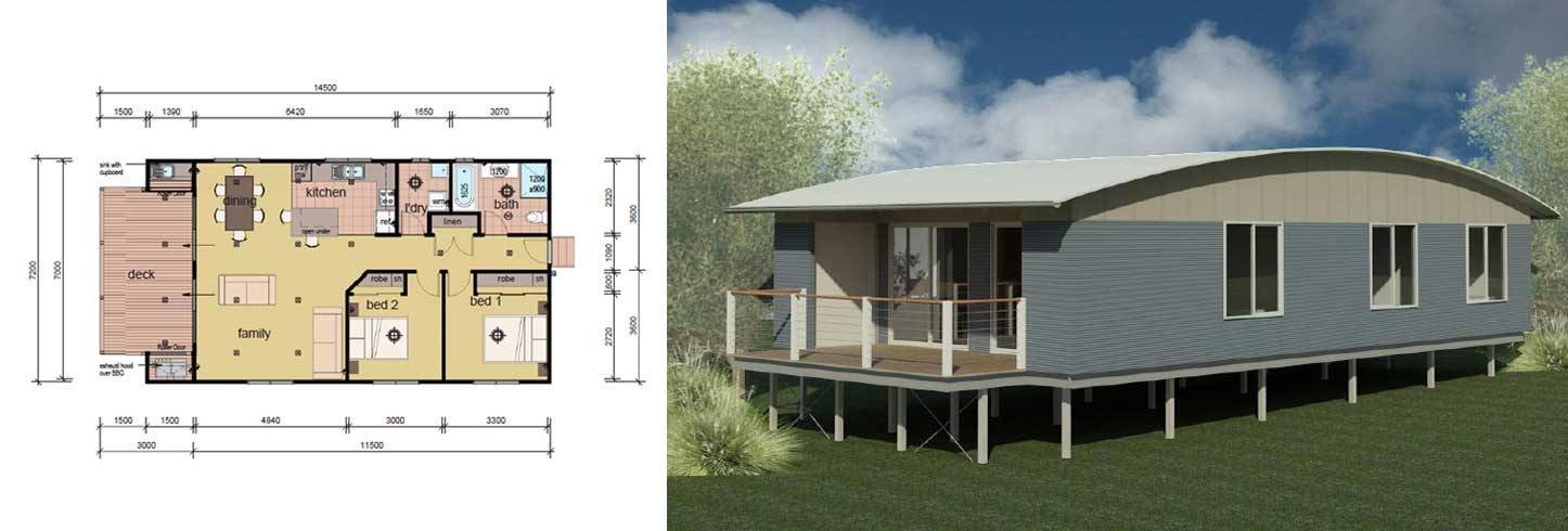 Best The Bock 2 Bedroom Modular Home Parkwood Homes With Pictures