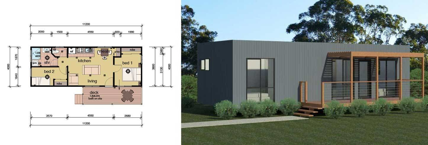 Best The Dowling Smart Pod Cabin Parkwood Homes With Pictures