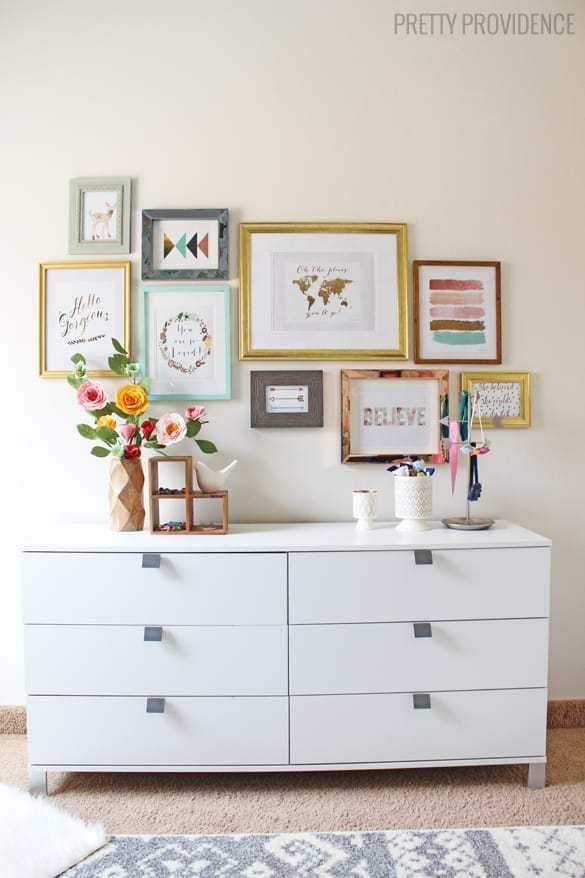 Best How To Hang A Perfect Gallery Wall Without Nails With Pictures