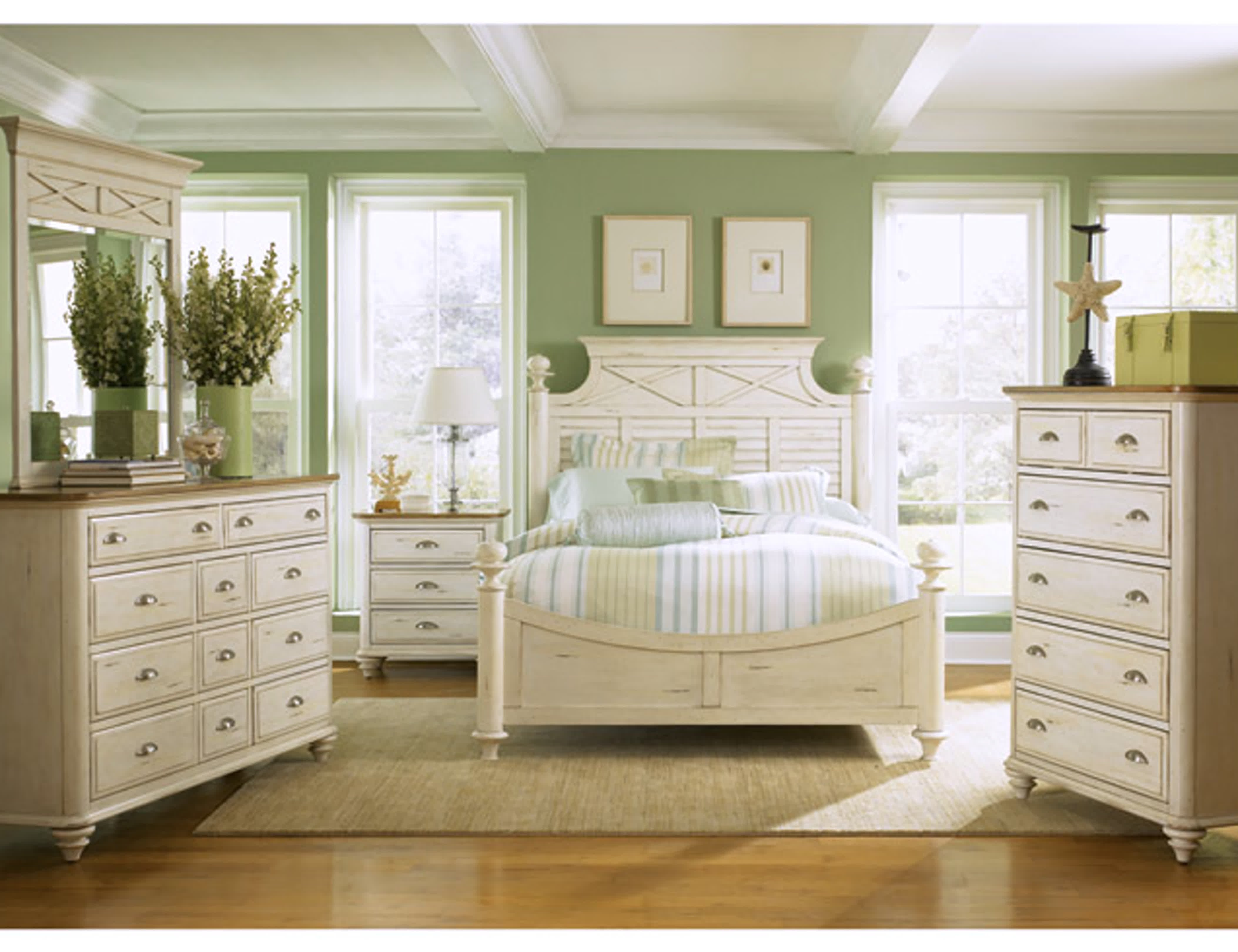 Best Romance Antique White Furniture Bedroom Furniture Direct With Pictures