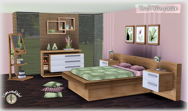 Best My Sims 3 Blog Teach Me Passion Bedroom Set By With Pictures