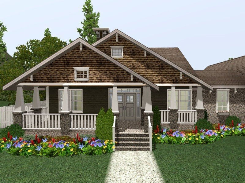 Best My Sims 3 Blog 3 Bedroom 2 Bath Craftsman By Blissfully24 With Pictures