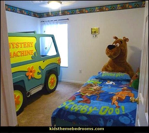 Best Decorating Theme Bedrooms Maries Manor Scooby Doo Theme Bedroom Scooby Doo Kids Bedroom With Pictures
