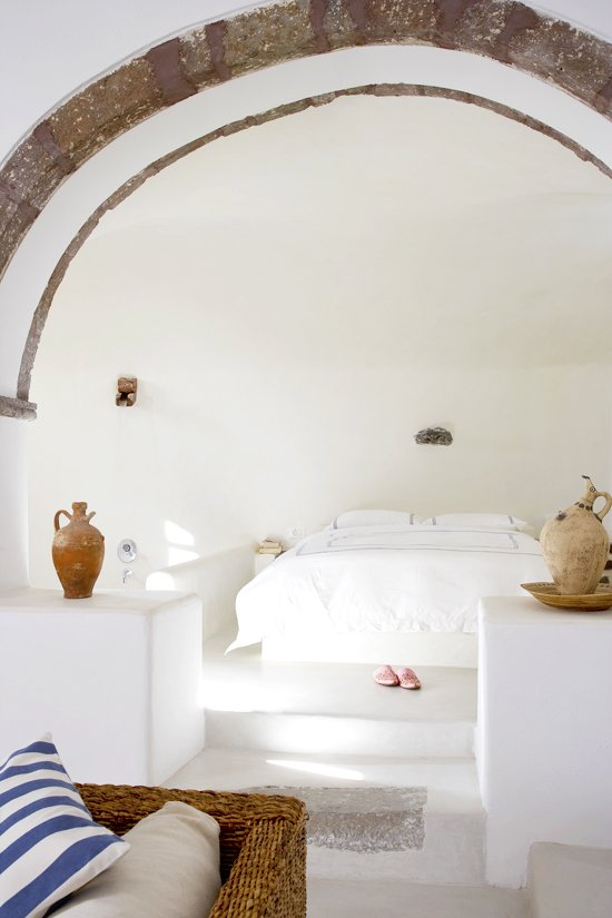 Best Weekend Inspiration Santorini Bedrooms And Arches With Pictures