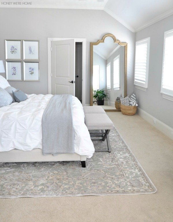 Best Honey We Re Home Neutral Master Bedroom Refresh With Pictures