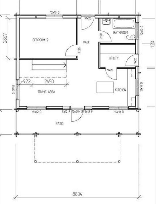 Best 2 Bedroom House Plans Timber Frame Houses With Pictures