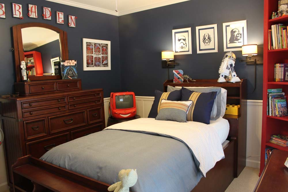 Best A Star Wars Themed Big Boy Room Southern Revivals With Pictures
