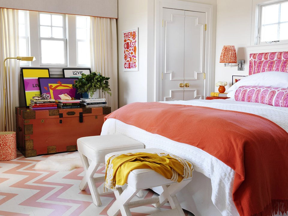 Best Pink And Orange For A Girl S Bedroom Driven By Decor With Pictures