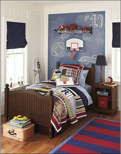 Best Young Boys Sports Bedroom Themes Home Decorating Ideas With Pictures