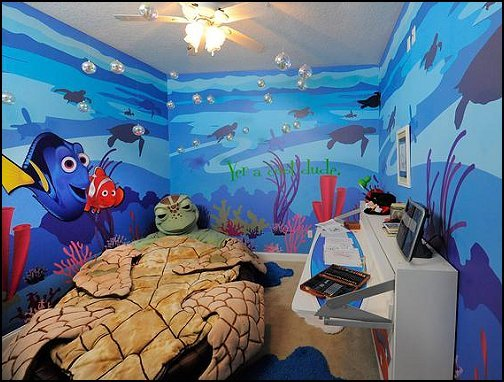 Best Decorating Theme Bedrooms Maries Manor Underwater Bedroom Ideas Under The Sea Theme With Pictures