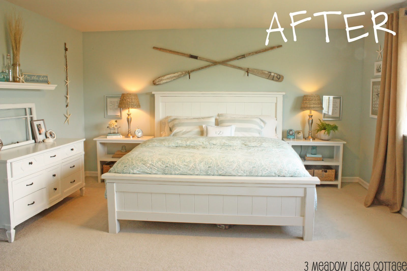 Best Remodelaholic Making The Master Bedroom Beautiful With Pictures