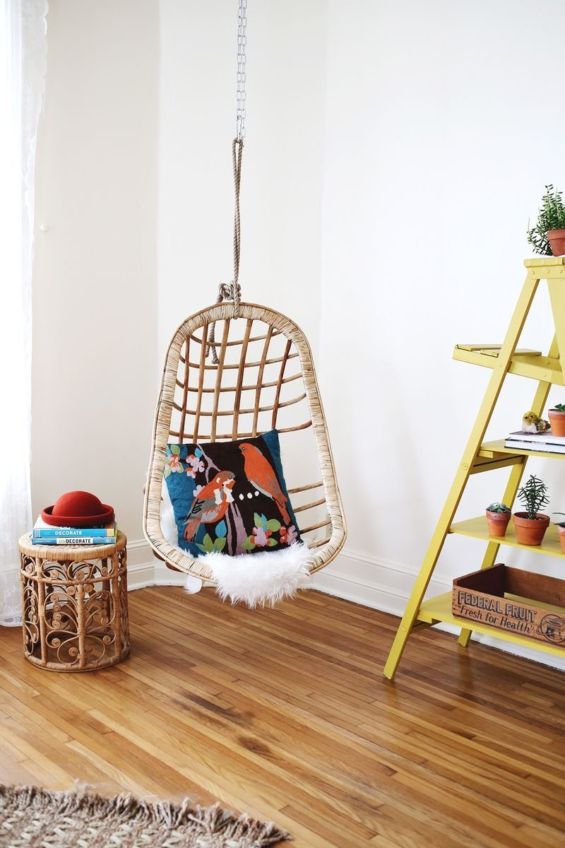 Best We Hung A Chair And It's Awesome – A Beautiful Mess With Pictures