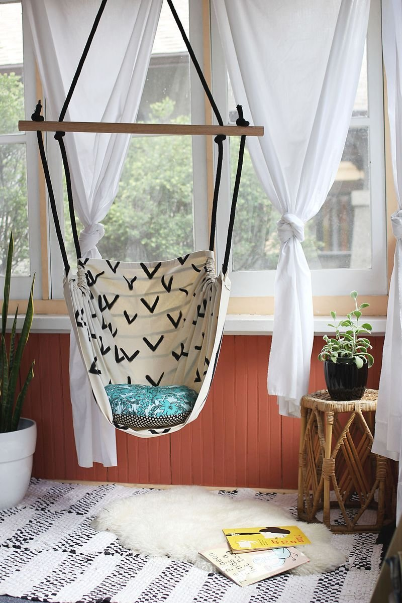 Best Hammock Chair Diy – A Beautiful Mess With Pictures