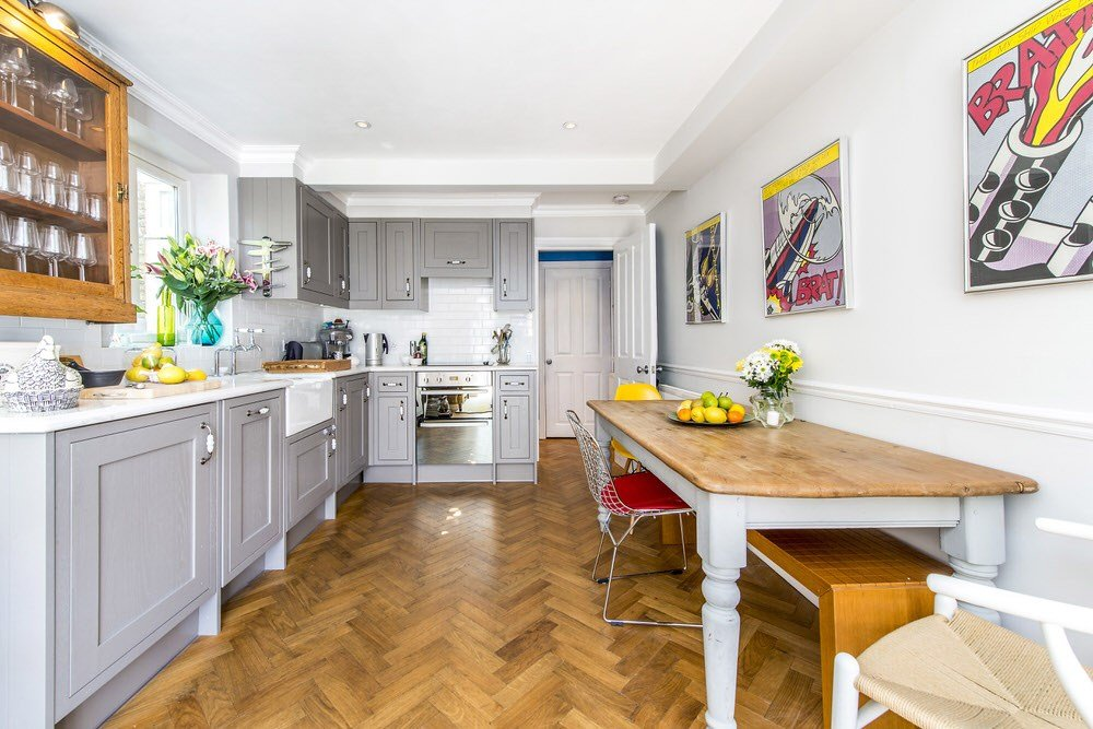 Best London Flat Conversion From A One Bed To A Two Bed With Pictures