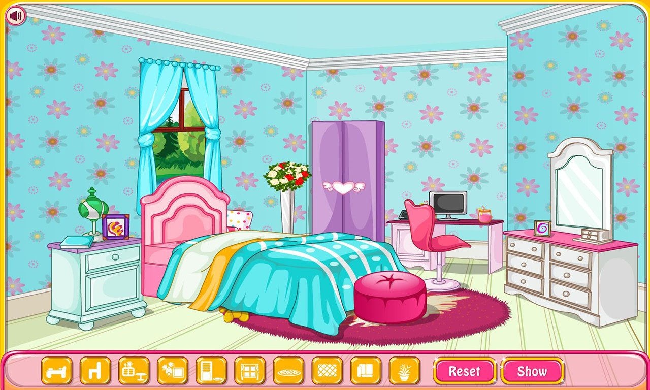 Best New House Decoration Games Princess Room Bedroom Barbie My With Pictures
