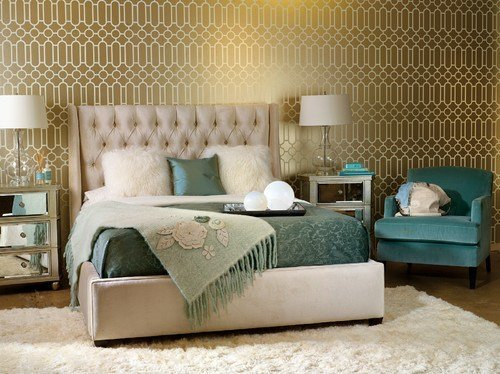 Best Regal Gold And Silver Interiors Blackle Mag With Pictures