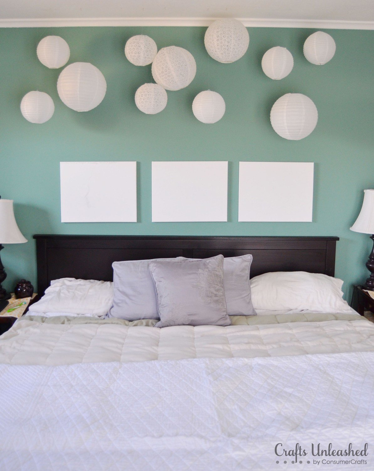 Best Create A Fun Whimsical Wall Installation With Paper Lanterns With Pictures