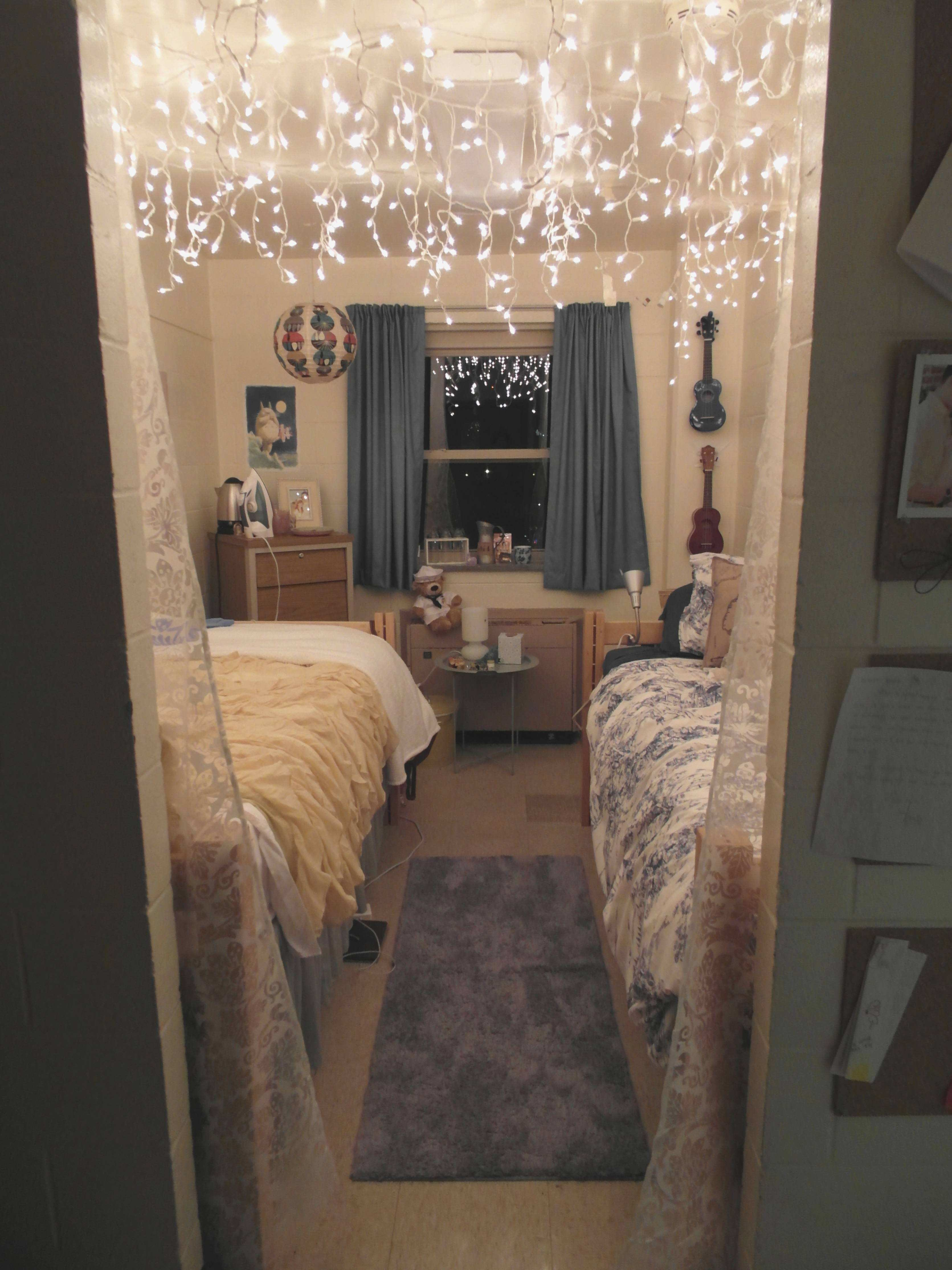 Best Icicle Lights In Bedroom With Regard To Fantasy Bedroom With Pictures