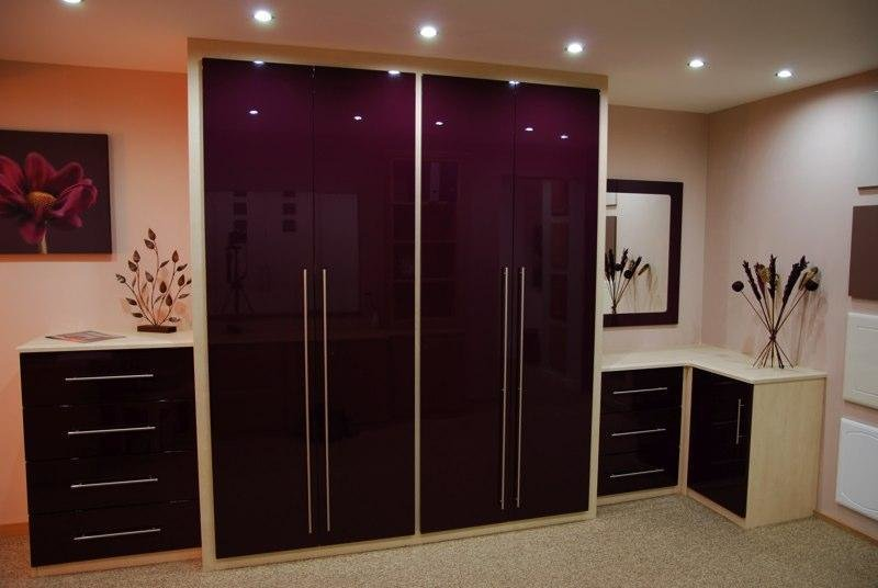 Best Gloss Wardrobes Bespoke Bedroom Furnitue With Pictures