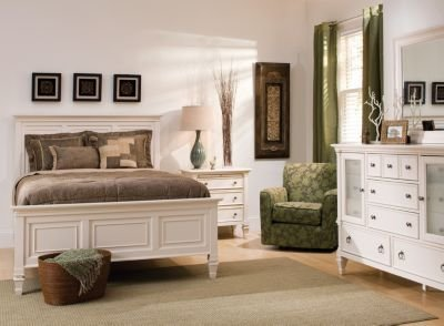 Best Somerset 4 Pc Queen Bedroom Set Alabaster Raymour Flanigan With Pictures