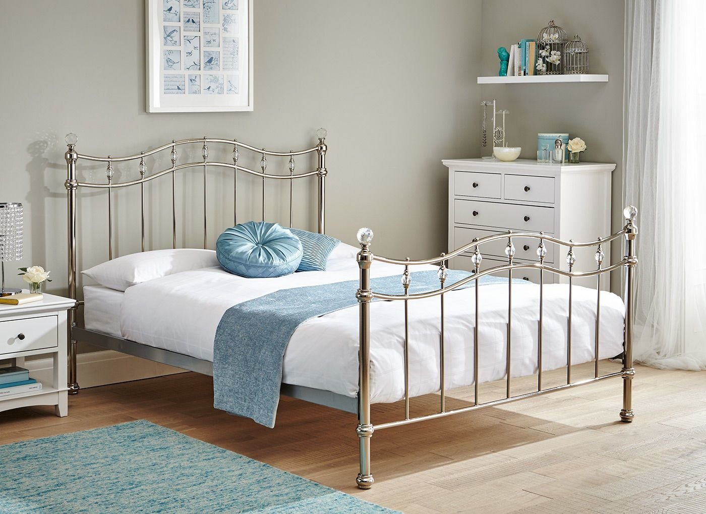 Best Louis Chrome Bed Frame Chrome Dreams With Pictures