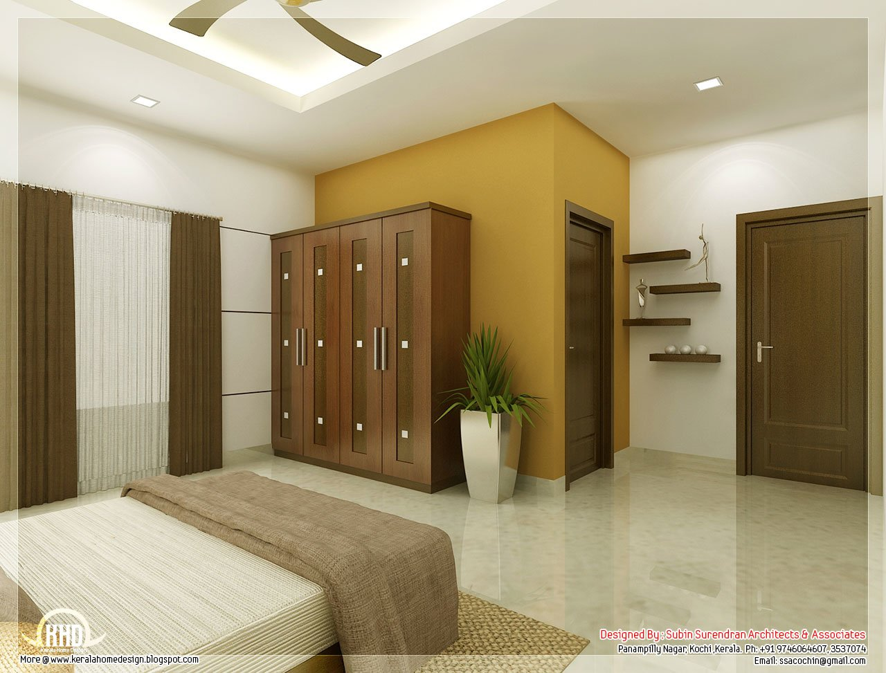 Best Beautiful Bedroom Interior Designs Kerala House Design With Pictures