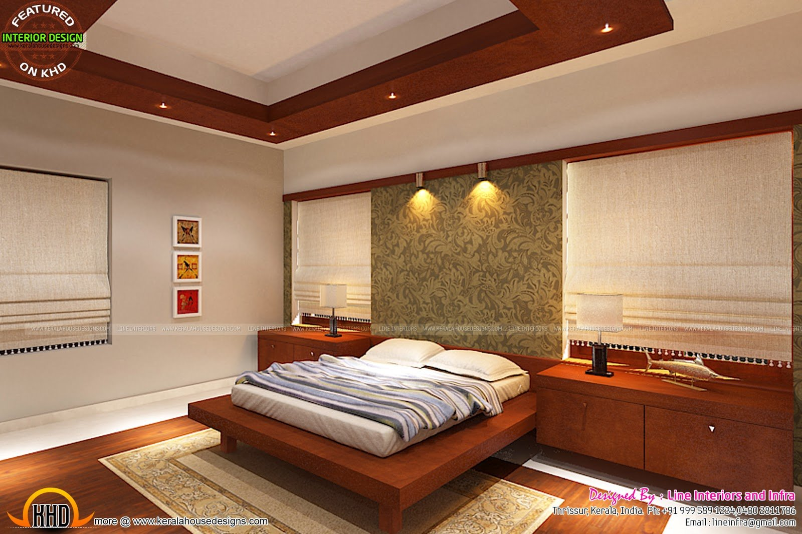 Best Interiors Design By Line Interiors And Infra Kerala Home With Pictures