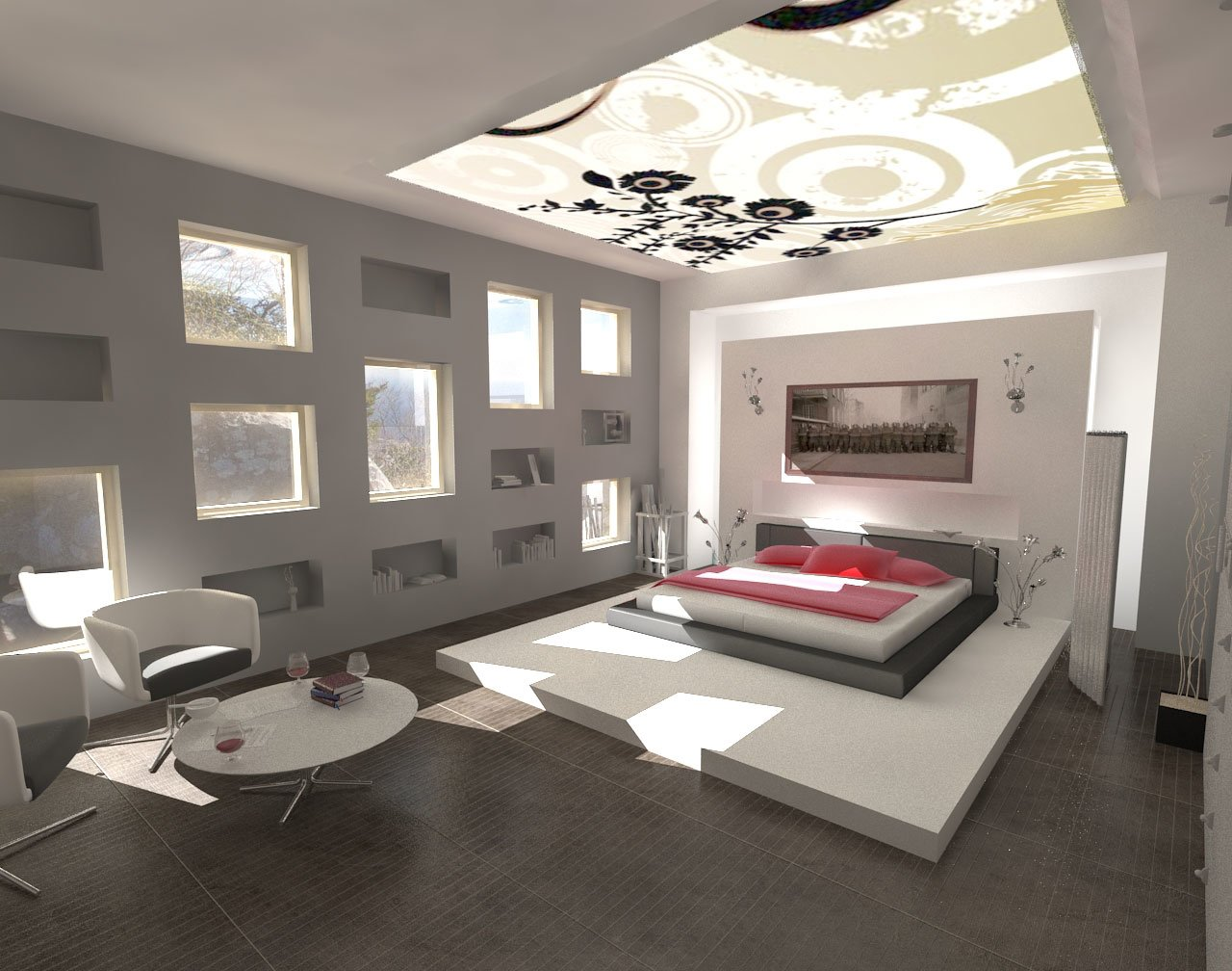 Best Decorations Minimalist Design Modern Bedroom Interior With Pictures