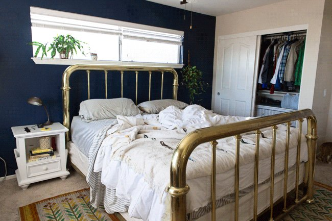 Best Insideways Navy Blue Bedroom With Pictures