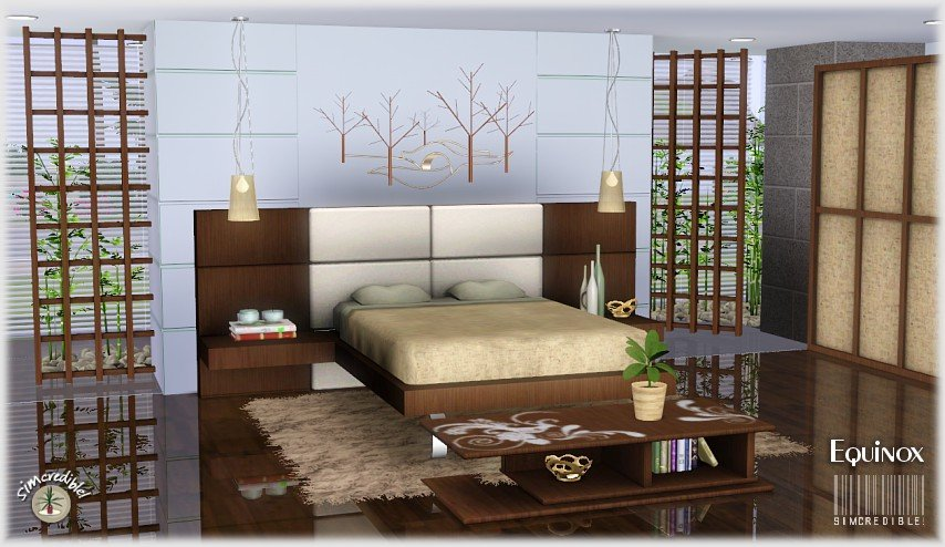 Best My Sims 3 Blog Equinox Bedroom Set By Simcredible Designs With Pictures