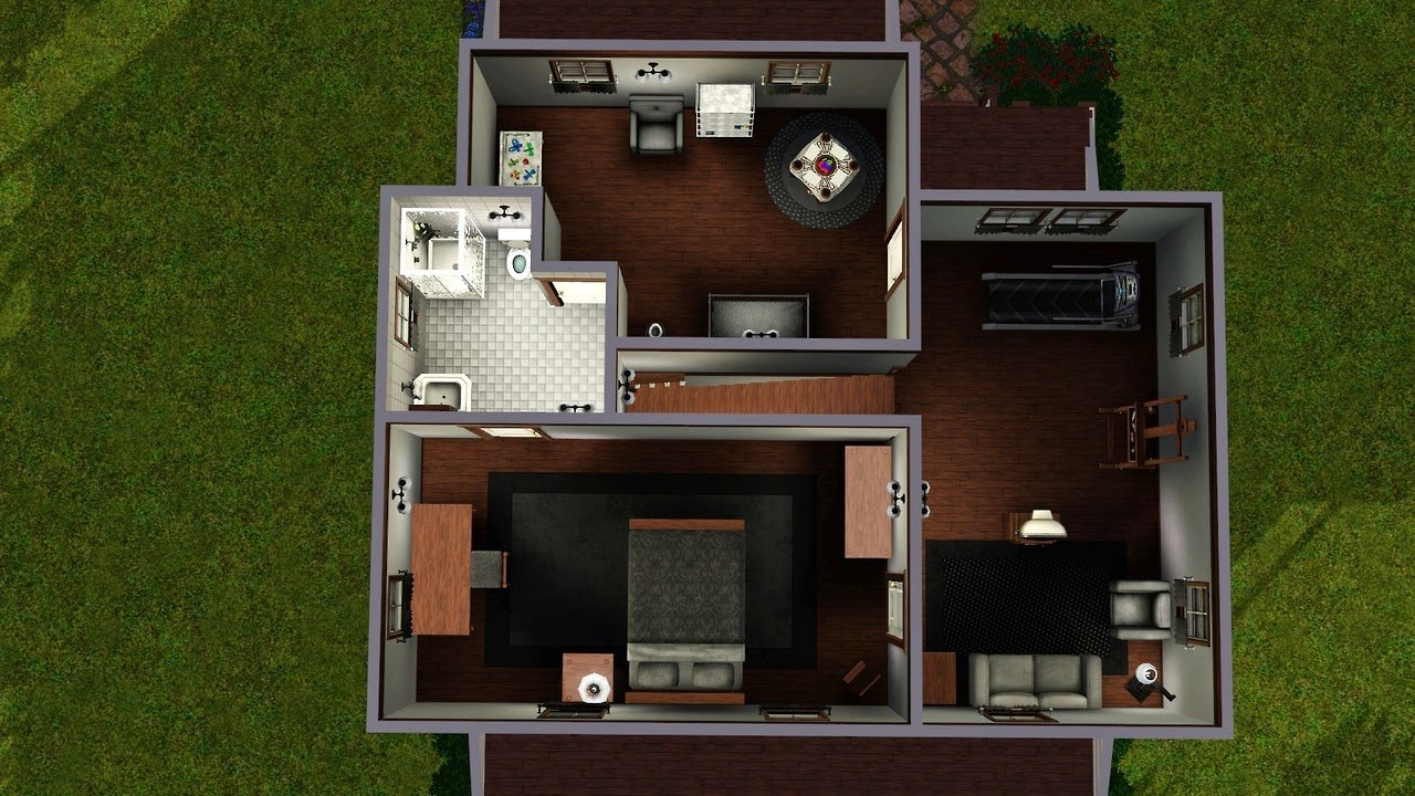 Best My Sims 3 Blog 2 Bedroom 2 Bath House By Lalunebleue With Pictures