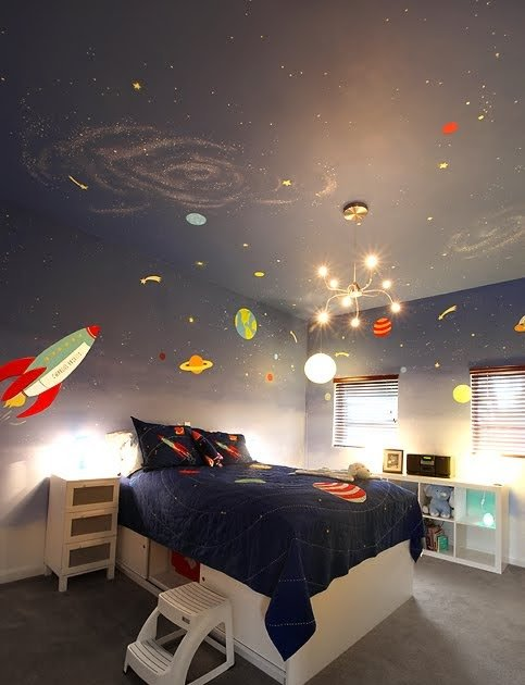 Best Redviolet Creations Charlie S Outer Space Room With Pictures