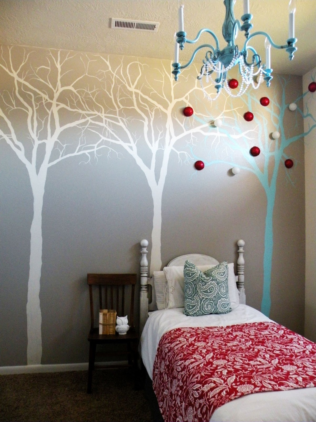 Best Tree Mural Tutorial Vintage Revivals With Pictures