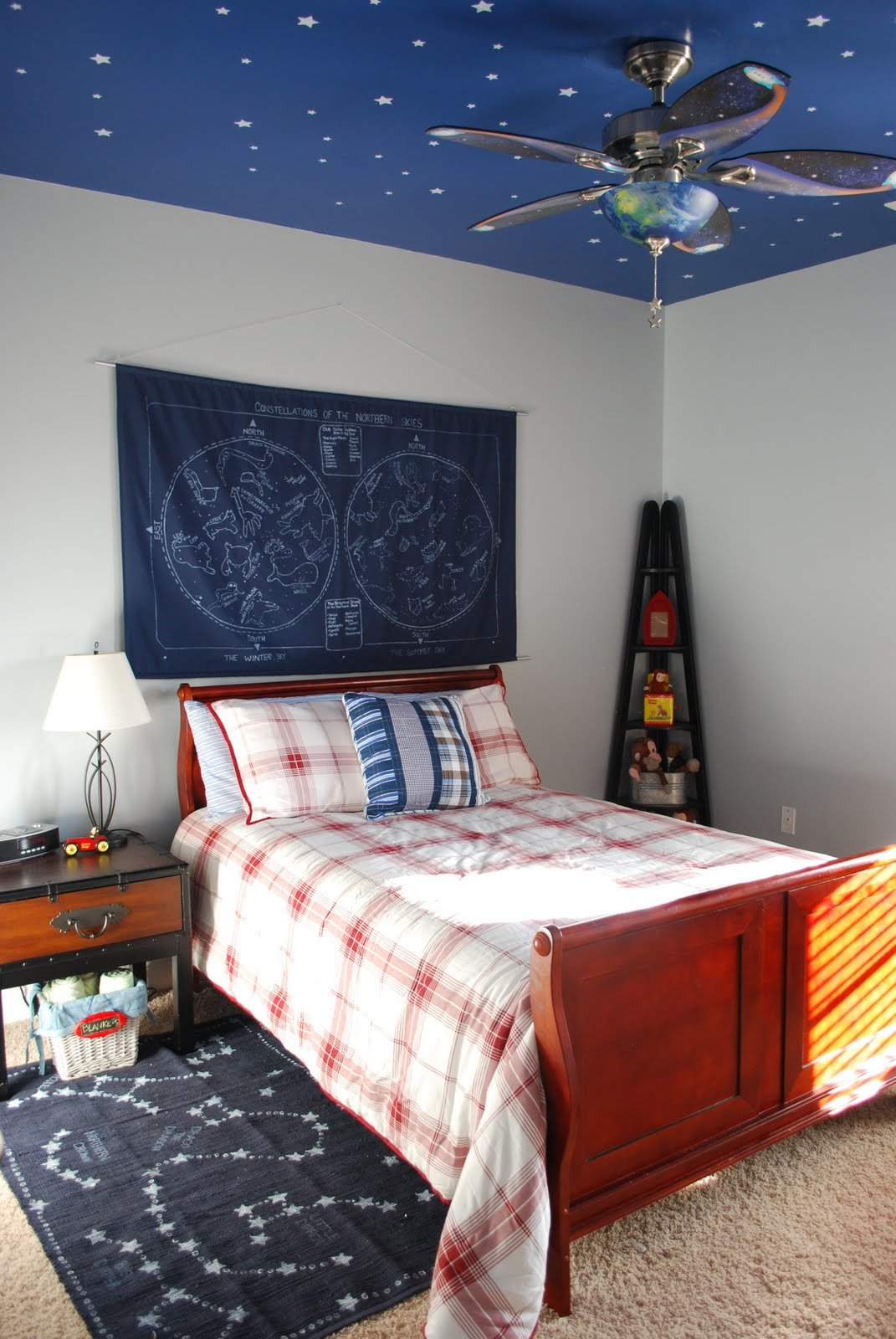 Best Fussy Monkey Business E S Space Themed Room With Pictures