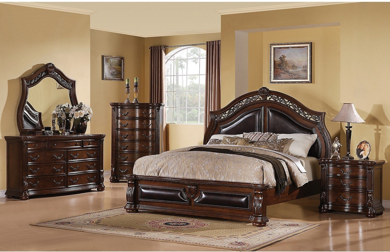 Best Morocco 8 Piece King Bedroom Package The Brick With Pictures