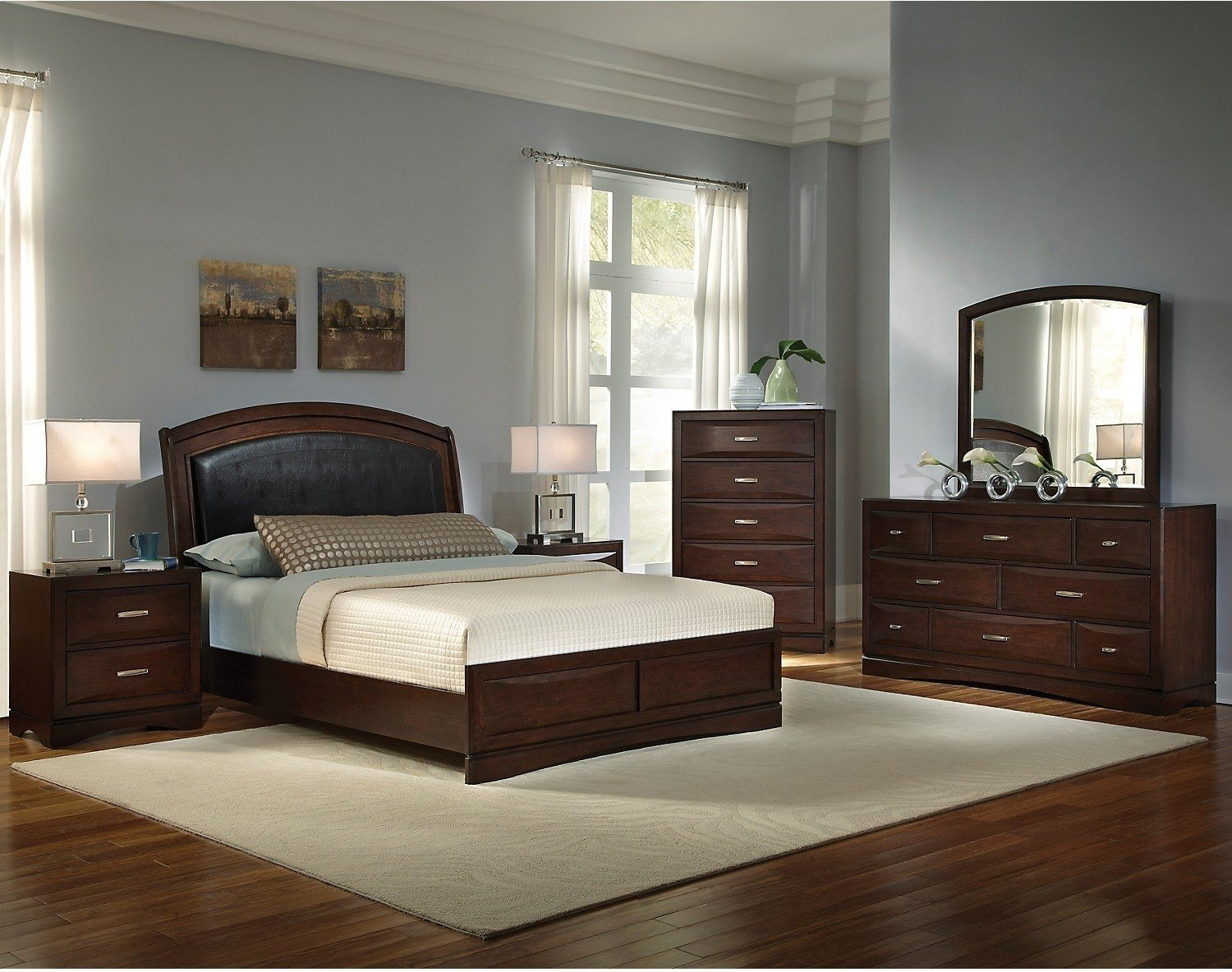 Best Beverly 8 Piece Queen Bedroom Set The Brick With Pictures