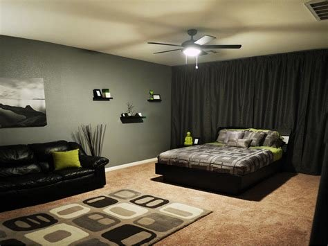 Best Bedroom Ideas In Black And Grey Decorating Excerpt With Pictures