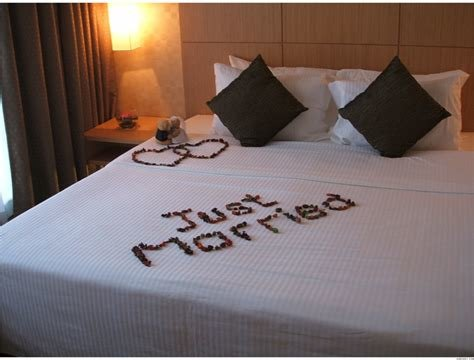 Best Bridal Suite Decoration Flower Beds Bed Decorated With With Pictures