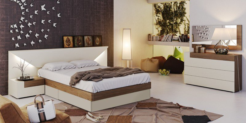 Best Elena Modern Italian Bedroom Set N Star Modern Furniture With Pictures
