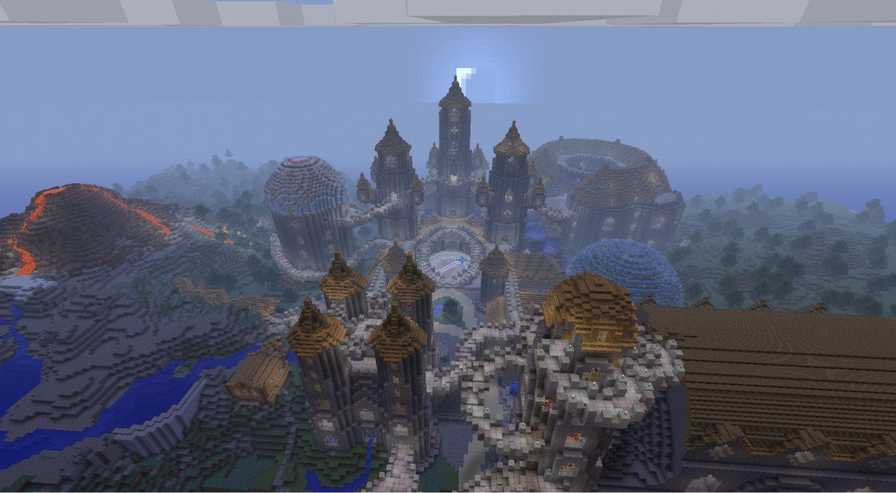 Best Magical Castle With Schematic Minecraft Project With Pictures