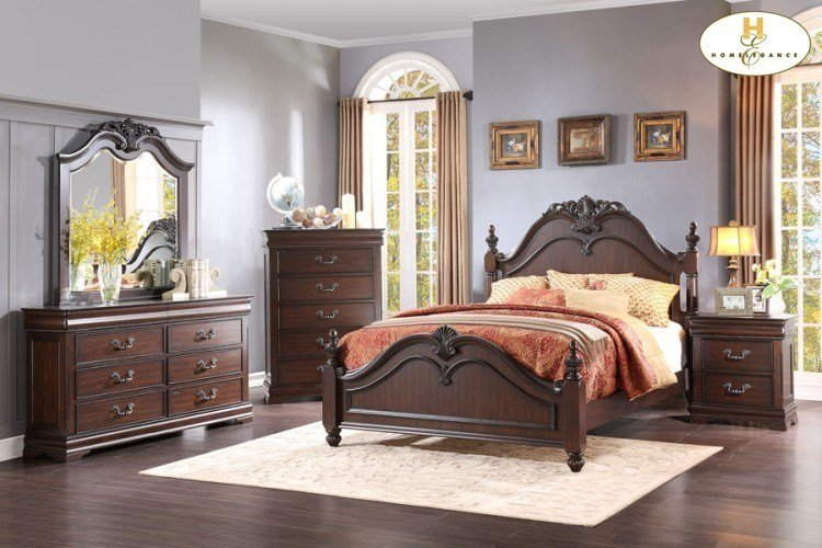 Best Queen Bed By Homelegance Connolly S Furniture With Pictures