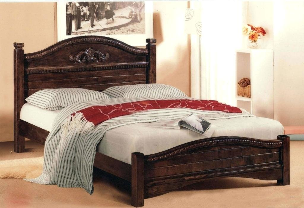 Best Single Bedroom King Bed Frame Wooden Frames Queen Platform Headboards And Old Unfinished Pine With Pictures