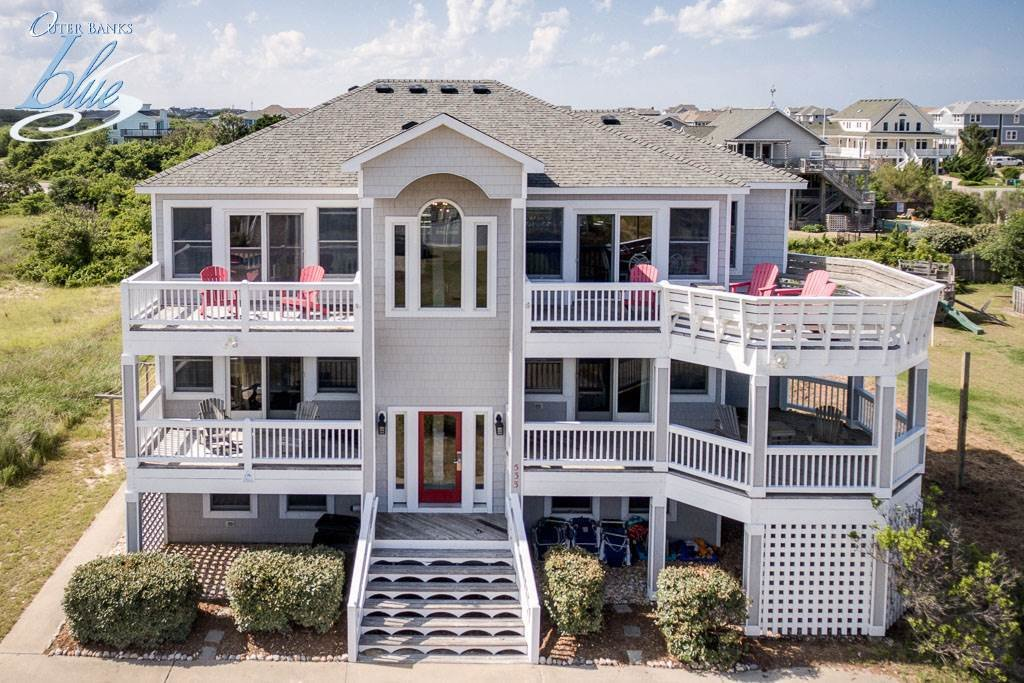 Best Outer Banks Vacation Rental Eight Bedroom House Ocean Side With Pictures