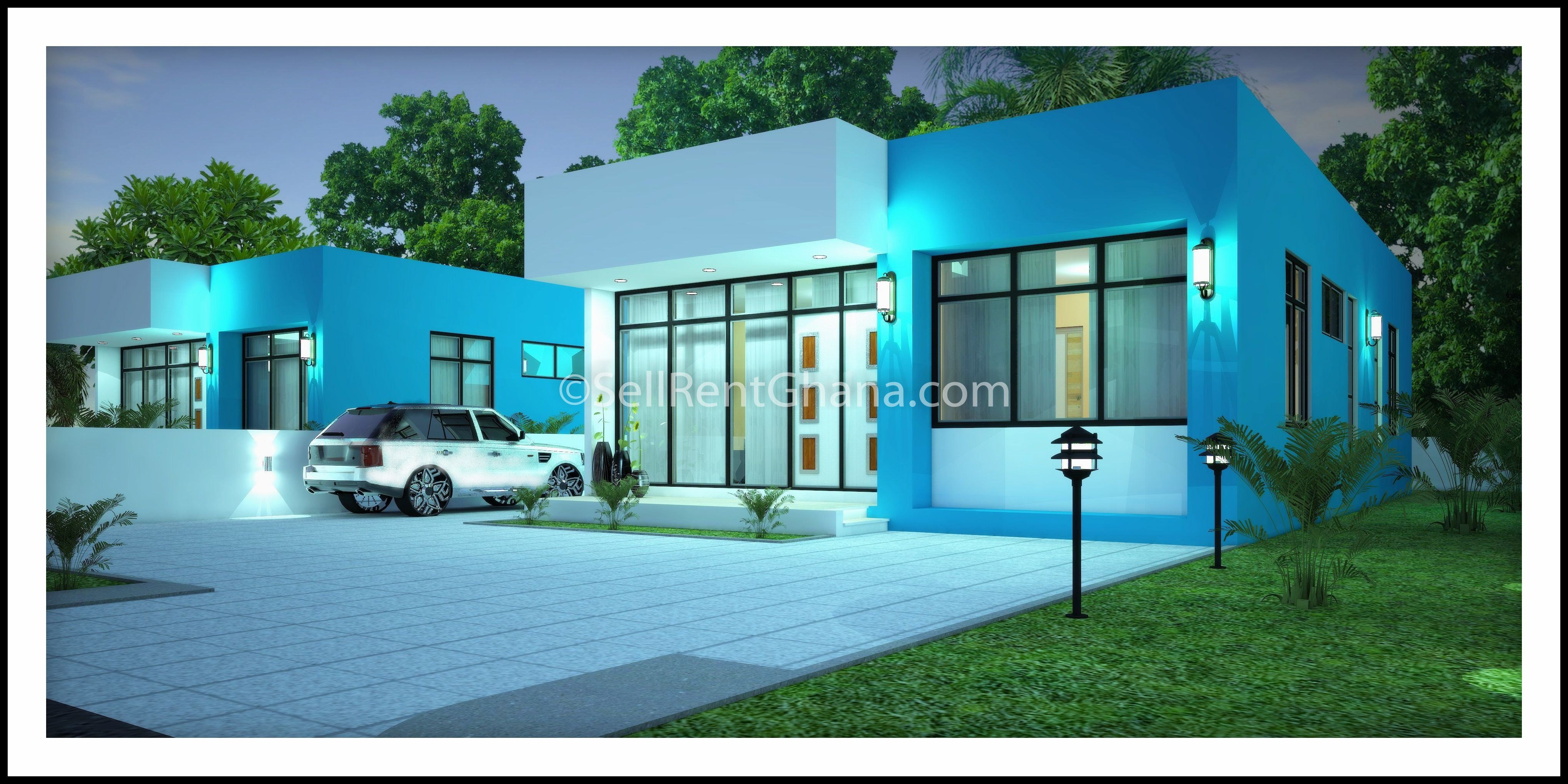 Best 2 3 Bedroom Semi Detached House Selling Sellrent Ghana With Pictures
