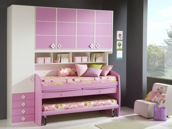 Best Pink Luxury Suite Cool Ideas For Pink Girls Bedroom With Pictures