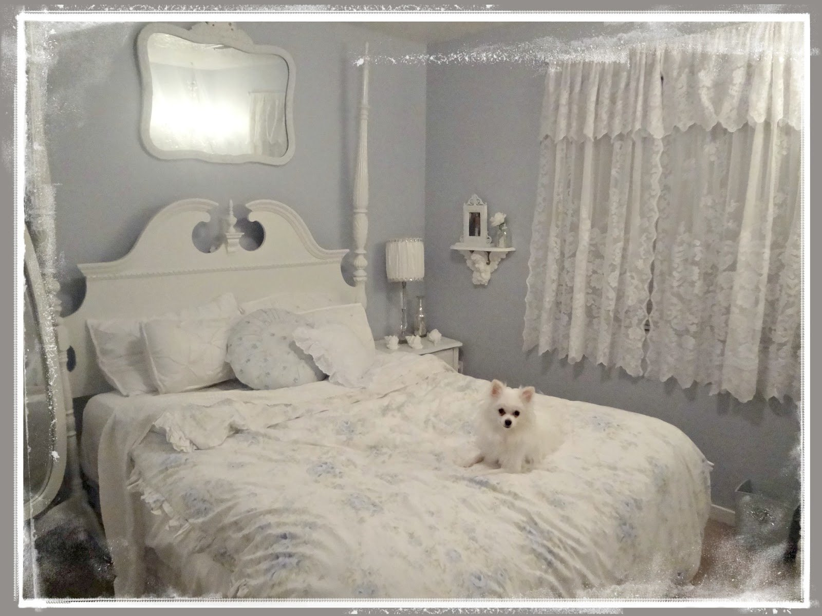 Best Not So Shabby Shabby Chic Chandelier In Guest Bedroom With Pictures