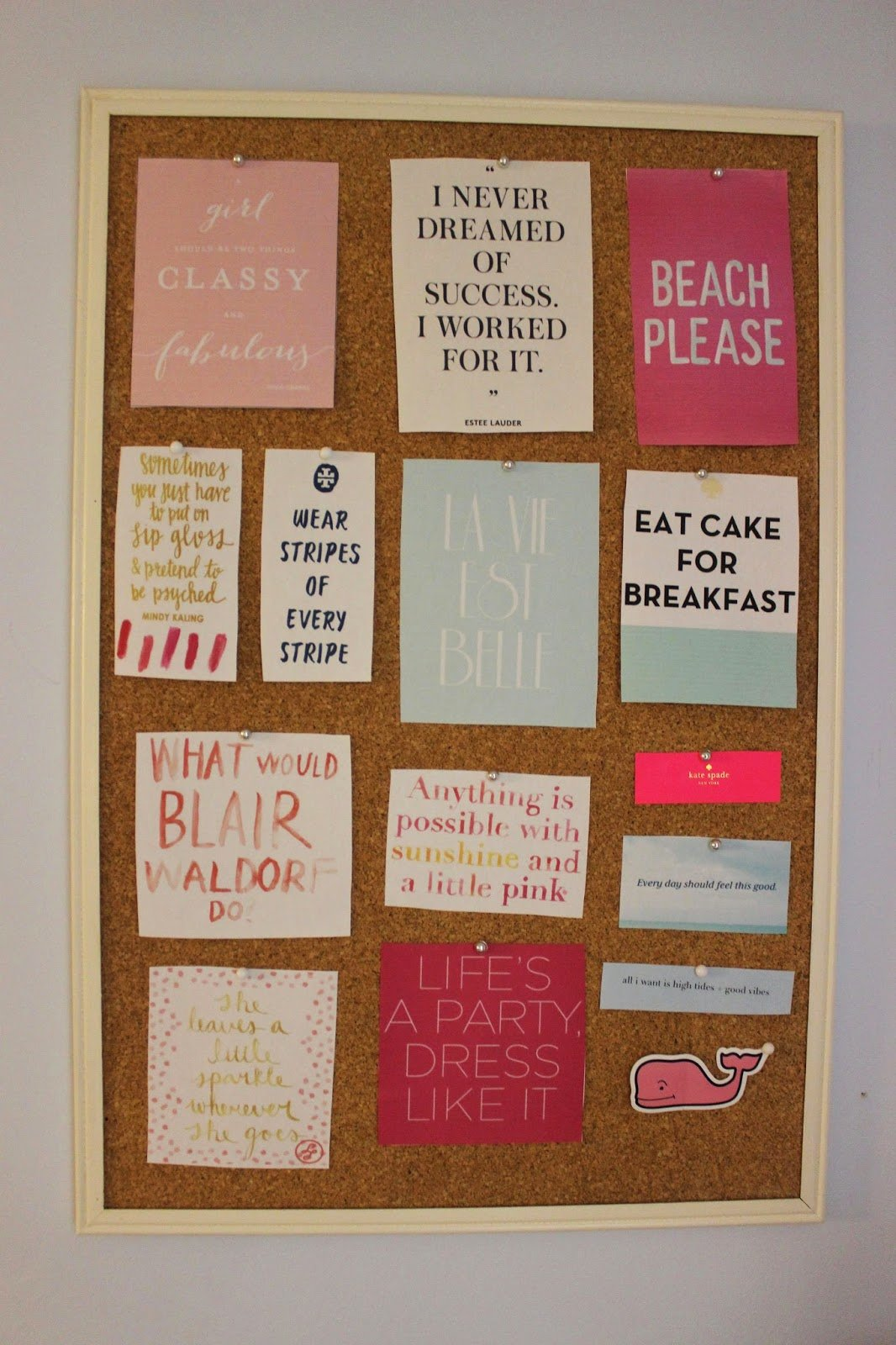 Best Preppy By The Sea The Pinterest Perfect Bulletin Board With Pictures