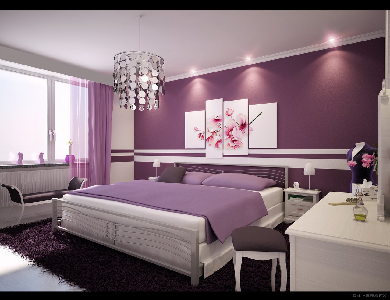 Best Simple Ideas For Purple Room Design Dream House Experience With Pictures