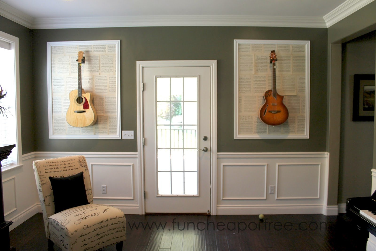 Best Diy Framed Guitars Fun Cheap Or Free With Pictures