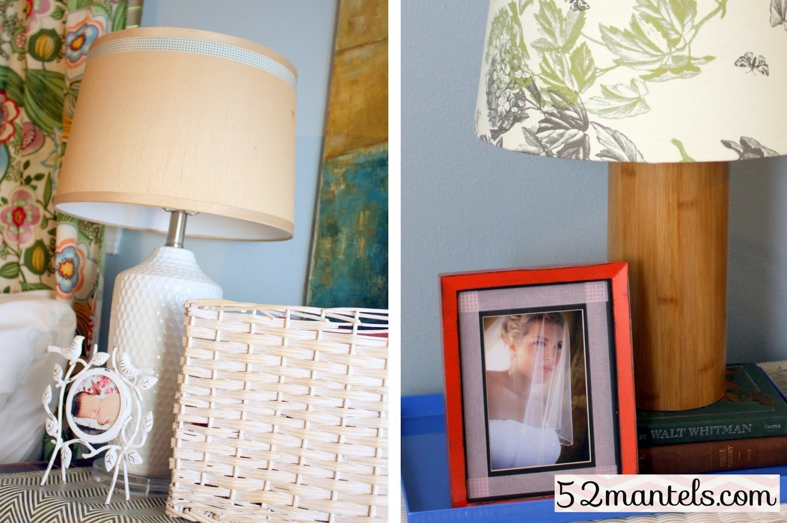 Best 52 Mantels Four Ways I Used Washi Tape In My Bedroom With Pictures